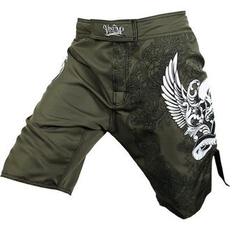 Venum Army Green Voodoo Fight Shorts